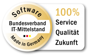 EMS GmbH Nuernberg I Software Made in Germany - Bundesverband IT-Mittelstand Zertifikat